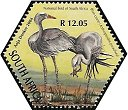 Cl: Blue Crane (Grus paradisea)(Endemic or near-endemic)  SG 1508f (2004) 200 [3/55]