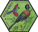 Cl: Purple-crested Turaco (Tauraco porphyreolophus)(Repeat for this country)  SG 1508e (2004) 200 [3/55]