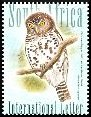 Cl: African Barred Owlet (Glaucidium capense) SG 1624 (2007) 140 [4/20]