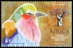 Cl: Lilac-breasted Roller (Coracias caudata)(Repeat for this country)  SG 1764c (2010) 250 [6/36]