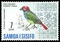 Cl: Red-headed Parrotfinch (Erythrura cyaneovirens) SG 284 (1967) 15