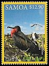 Cl: Great Frigatebird (Fregata minor)(Repeat for this country) (I do not have this stamp)  SG 1368 (2016)