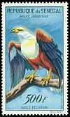 Cl: African Fish-Eagle (Haliaeetus vocifer) <<Aigle pecheur>>  SG 238 (1960) 550 [2/4]
