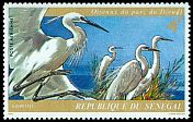 Cl: Intermediate Egret (Egretta intermedia) SG 548 (1974)