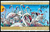 Cl: Greater Flamingo (Phoenicopterus roseus)(Repeat for this country)  SG 550 (1974) 650