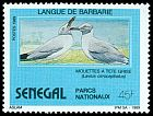 Cl: Grey-headed Gull (Larus cirrocephalus) <<Mouettes a tete grise>> (Repeat for this country)  SG 1025 (1989)