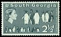 Cl: King Penguin (Aptenodytes patagonicus)(Repeat for this country)  SG 4 (1963) 600
