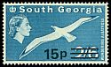 Cl: Wandering Albatross (Diomedea exulans)(Repeat for this country)  SG 64w (1971) 150
