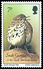 Cl: South Georgia Pipit (Anthus antarcticus) SG 167 (1987) 12