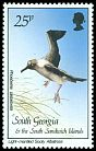 Cl: Light-mantled Albatross (Phoebetria palpebrata)(Repeat for this country)  SG 172 (1987)