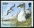 Cl: Grey-headed Albatross (Thalassarche chrysostoma) SG 277b (1998)