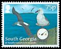 Cl: Grey-headed Albatross (Thalassarche chrysostoma)(Repeat for this country)  SG 572 (2012)  [8/5]