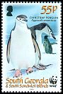 Cl: Chinstrap Penguin (Pygoscelis antarctica)(Repeat for this country)  SG 453 (2008)  [4/52]