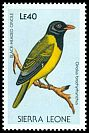 Cl: Western Black-headed Oriole (Oriolus brachyrhynchus)(Repeat for this country)  SG 1149 (1988)