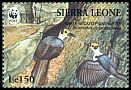 Cl: White-necked Rockfowl (Picathartes gymnocephalus)(Repeat for this country)  SG 2152 (1994)