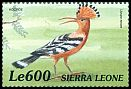 Cl: Eurasian Hoopoe (Upupa epops)(Repeat for this country)  SG 3120 (1999)