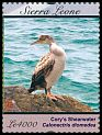Cl: Long-tailed Cormorant (Phalacrocorax africanus)(I do not have this stamp)  SG 4790c (2012)  [8/3]