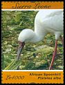 Cl: African Spoonbill (Platalea alba)(Repeat for this country) (I do not have this stamp)  SG 4789d (2012)  [8/2]