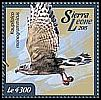 Cl: Lizard Buzzard (Kaupifalco monogrammicus)(I do not have this stamp)  new (2015)