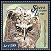 Cl: Crowned Hawk-Eagle (Stephanoaetus coronatus)(Repeat for this country) (I do not have this stamp)  new (2015)