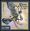 Cl: African Hobby (Falco cuvierii)(I do not have this stamp)  new (2015)