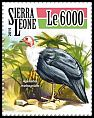 Cl: White-breasted Guineafowl (Agelastes meleagrides)(Endemic or near-endemic) (I do not have this stamp)  new (2015)