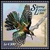 Cl: Dideric Cuckoo (Chrysococcyx caprius)(I do not have this stamp)  new (2015)