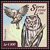 Cl: European Scops-Owl (Otus scops)(Out of range) (I do not have this stamp)  new (2015)