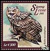 Cl: Pharaoh Eagle-Owl (Bubo ascalaphus)(Out of range) (I do not have this stamp)  new (2015)