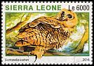 Cl: Rufous Fishing-Owl (Scotopelia ussheri)(I do not have this stamp)  new (2016)