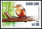 Cl: Grey-headed Kingfisher (Halcyon leucocephala)(I do not have this stamp)  new (2015)