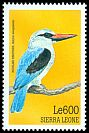 Cl: Woodland Kingfisher (Halcyon senegalensis) SG 3081 (1999)