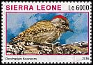 Cl: Cardinal Woodpecker (Dendropicos fuscescens)(I do not have this stamp)  new (2016)