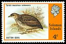 Cl: Red-backed Buttonquail (Turnix maculosa salomonis) SG 308 (1976) 85