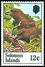 Cl: Solomon Sea-Eagle (Haliaeetus sanfordi)(Endemic or near-endemic)  SG 461 (1982) 35 [9/19]