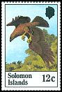 Cl: Solomon Sea-Eagle (Haliaeetus sanfordi)(Endemic or near-endemic)  SG 465 (1982) 35 [9/19]