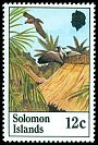 Cl: Solomon Sea-Eagle (Haliaeetus sanfordi)(Endemic or near-endemic)  SG 466 (1982) 35
