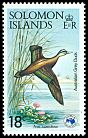 Cl: Pacific Black Duck (Anas superciliosa) SG 534 (1984) 65