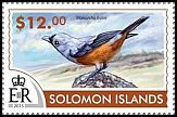 Cl: Black-winged Monarch (Monarcha frater)(Out of range and no other stamp) (not catalogued)  (2015)