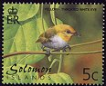 Cl: Yellow-throated White-eye (Zosterops metcalfii) SG 976 (2001) 15 [1/6]