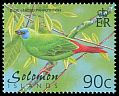 Cl: Blue-faced Parrotfinch (Erythrura trichroa) SG 980 (2001) 60
