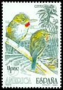 Cl: Puerto Rican Tody (Todus mexicanus) <<Todis>> (Out of range)  SG 3083 (1990) 30