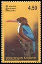 Cl: White-throated Kingfisher (Halcyon smyrnensis) SG 1653 (2003)  [2/15]