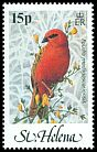 Cl: Red Fody (Foudia madagascariensis)(Repeat for this country)  SG 420 (1983)