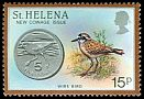 Cl: St. Helena Plover (Charadrius sanctaehelenae)(Endemic or near-endemic)  SG 443 (1984) 45
