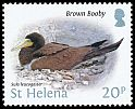 Cl: Brown Booby (Sula leucogaster)(Repeat for this country)  SG 1238 (2015)  [10/16]