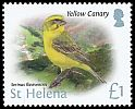 Cl: Yellow Canary (Serinus flaviventris)(Repeat for this country)  SG 1244 (2015)  [10/16]