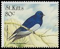 Cl: Caribbean Martin (Progne dominicensis)(Repeat for this country)  SG 522 (1999)