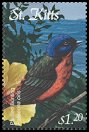Cl: Painted Bunting (Passerina ciris)(Out of range)  SG 660 (2001)