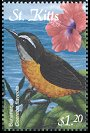 Cl: Bananaquit (Coereba flaveola)(Repeat for this country)  SG 661 (2001)